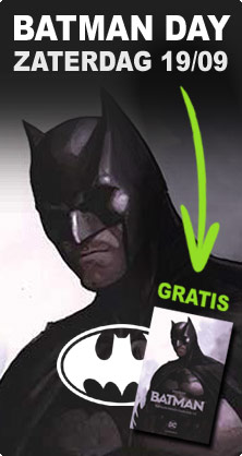 Gratis Batman strip op Batman Day!