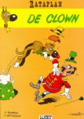 De clown stripboek