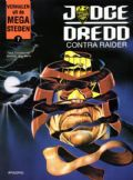 Judge Dredd contra Raider stripboek